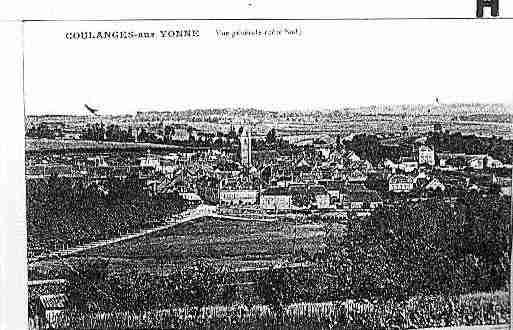 Ville de COULOURS Carte postale ancienne