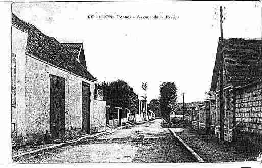 Ville de COURLONSURYONNE Carte postale ancienne