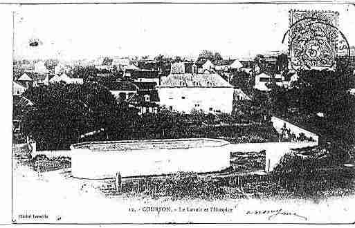 Ville de COURSONLESCARRIERES Carte postale ancienne