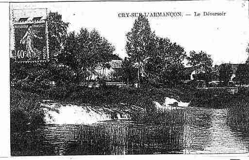 Ville de CRY Carte postale ancienne
