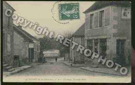 Ville de ESCAMPS Carte postale ancienne