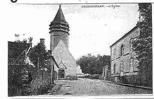Ville de GRANDCHAMP Carte postale ancienne