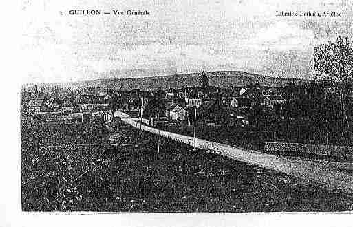 Ville de GUILLON Carte postale ancienne