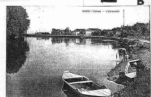 Ville de GURGY Carte postale ancienne