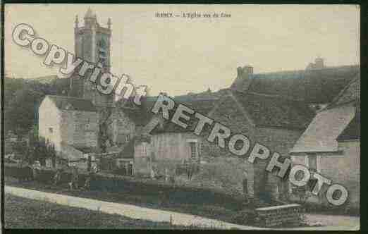 Ville de IRANCY Carte postale ancienne