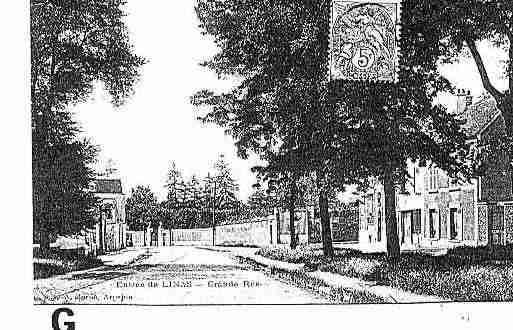 ville de linas carte postale ancienne