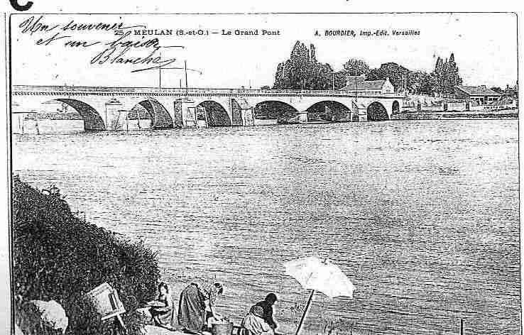 Versailles photo et carte postale for Piscine de meulan