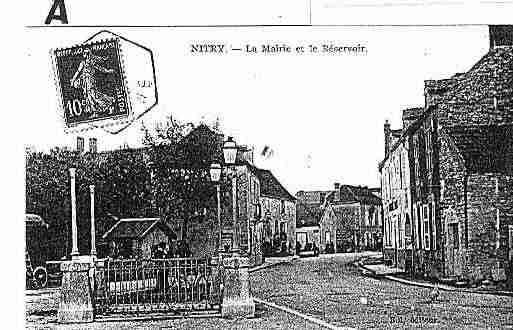 Ville de NITRY Carte postale ancienne
