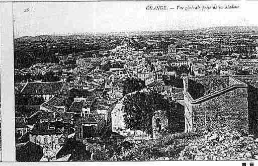 Ville de ORANGE Carte postale ancienne