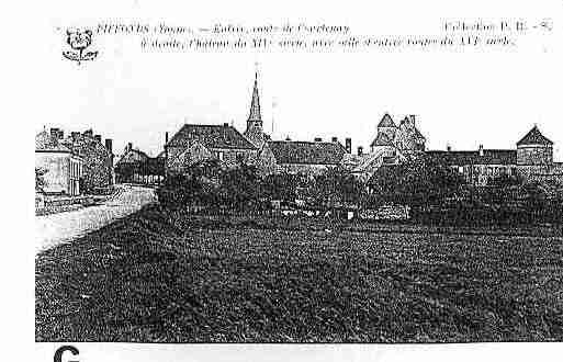 Ville de PIFFONDS Carte postale ancienne