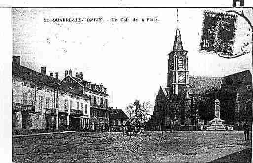 Ville de QUARRELESTOMBES Carte postale ancienne