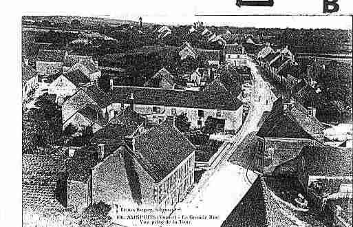Ville de SAINPUITS Carte postale ancienne