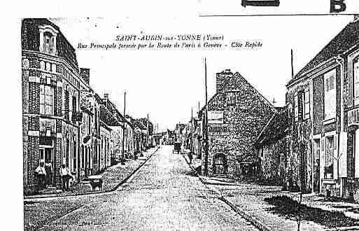 Ville de SAINTAUBINSURYONNE Carte postale ancienne