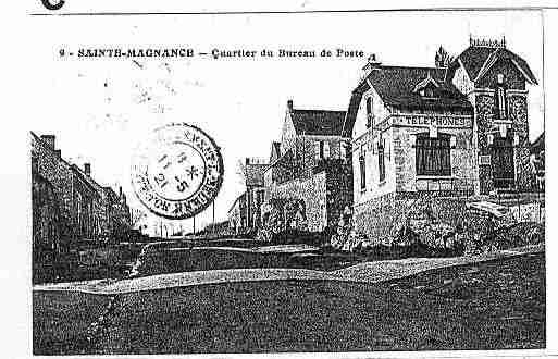 Ville de SAINTEMAGNANCE Carte postale ancienne
