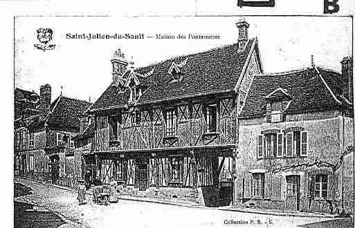 Ville de SAINTJULIENDUSAULT Carte postale ancienne