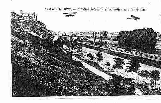 Ville de SAINTMARTINDUTERTRE Carte postale ancienne