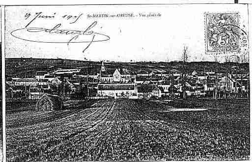 Ville de SAINTMARTINSUROREUSE Carte postale ancienne