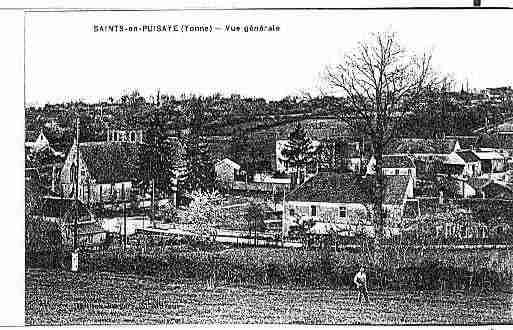 Ville de SAINTS Carte postale ancienne