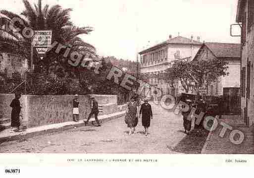 Lavandou(le), photo et carte postale