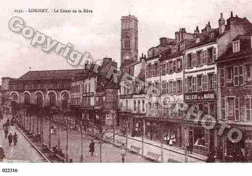 Ville de lorient ph011620 g clich s partir d 39 une carte - Presse ancienne morbihan ...