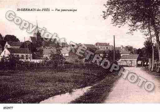 Ville de SAINTGERMAINDESPRES, carte postale ancienne