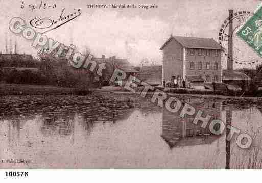 Ville de THUREY, carte postale ancienne