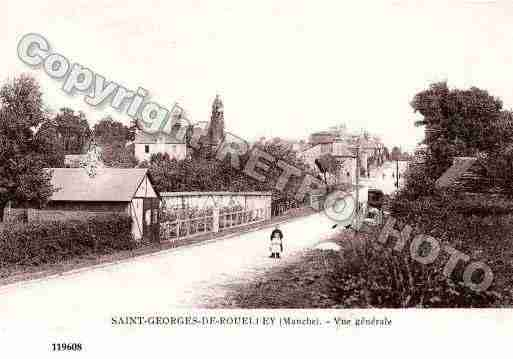 Ville de SAINTGEORGESDEROUELLEY, carte postale ancienne