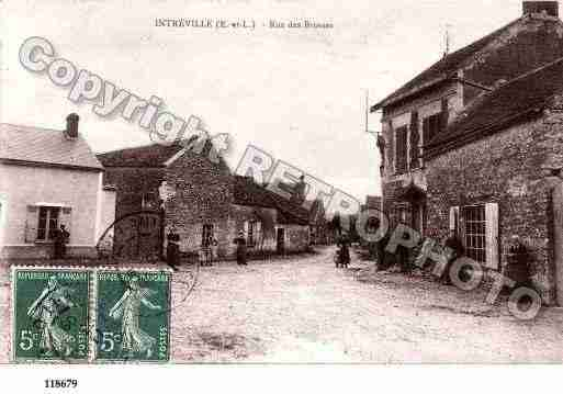 Ville de INTREVILLE, carte postale ancienne