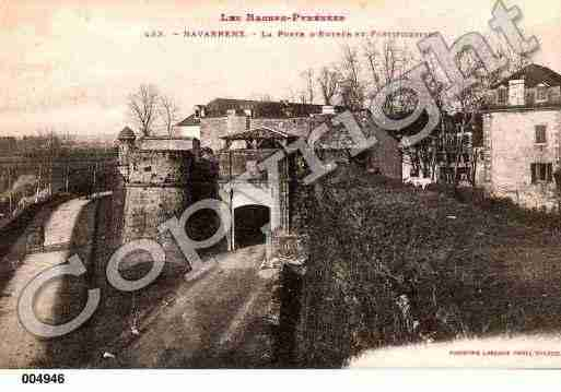 Ville de NAVARRENX, carte postale ancienne