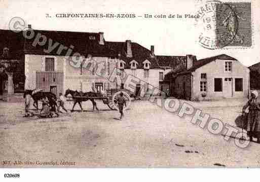 Ville de CIRFONTAINESENAZOIS, carte postale ancienne