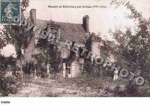 Ville de FEINGS, carte postale ancienne