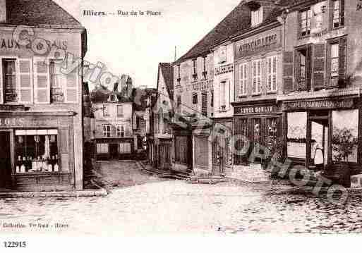 Ville de ILLIERSCOMBRAY, carte postale ancienne
