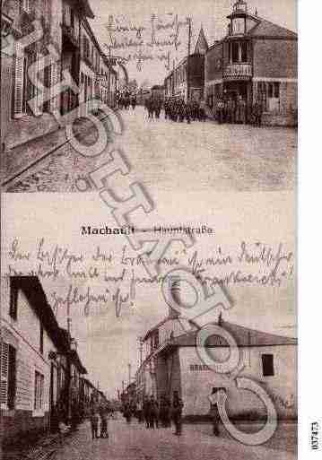 Ville de MACHAULT, carte postale ancienne