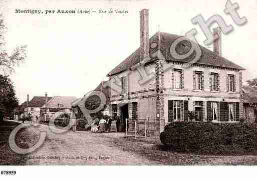 Ville de MONTIGNYLESMONTS, carte postale ancienne