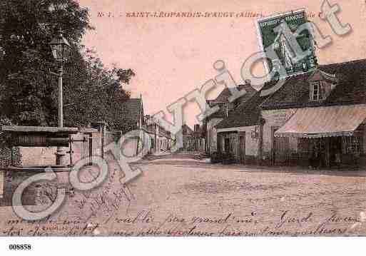 Ville de SAINTLEOPARDIND'AUGY, carte postale ancienne