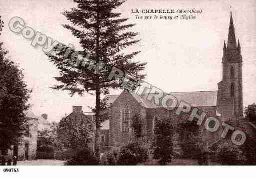 Ville de CHAPELLECARO(LA), carte postale ancienne