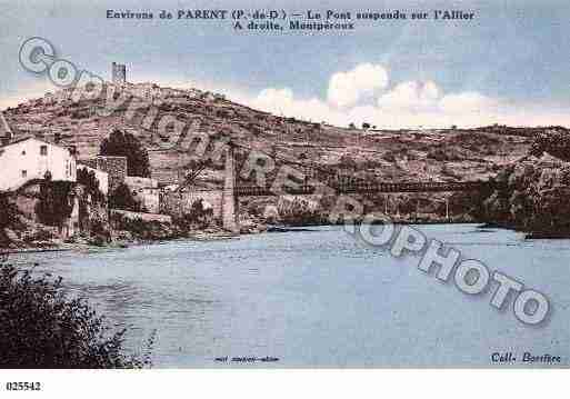 Ville de PARENT, carte postale ancienne
