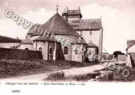 Ville de SAINTGILDASDERHUYS, carte postale ancienne