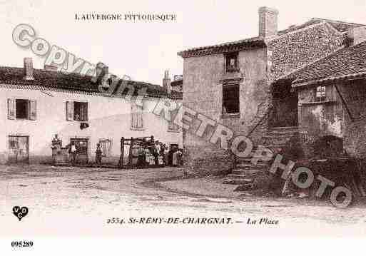Ville de SAINTREMYDECHARGNAT, carte postale ancienne