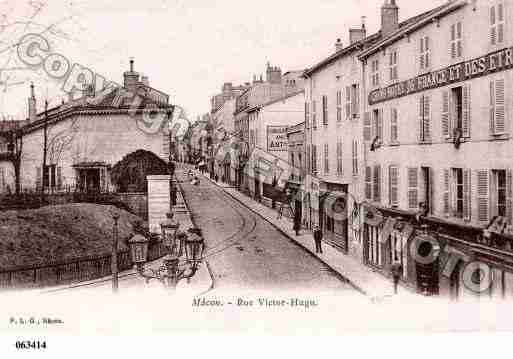 Ville de MACON, carte postale ancienne