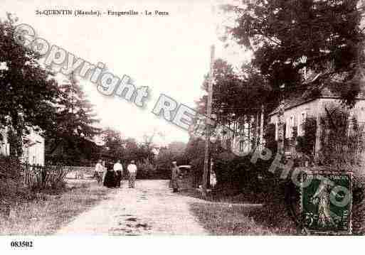 Ville de SAINTQUENTINSURLEHOMME, carte postale ancienne