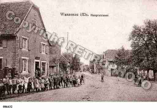 Ville de WANTZENAU(LA), carte postale ancienne