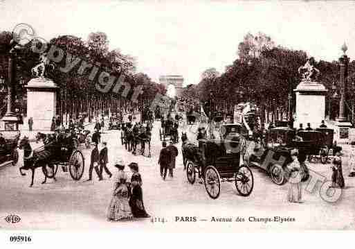 Ville de PARIS8, carte postale ancienne