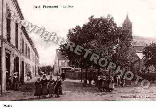 Villes et villages en cartes postales anciennes .. - Page 13 Photos-carte-fouesnant-finistere-PH002530-C