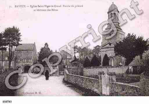 Ville de SAINTVIGORLEGRAND, carte postale ancienne