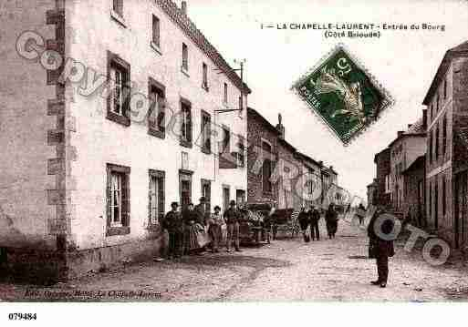 Ville de CHAPELLELAURENT(LA), carte postale ancienne