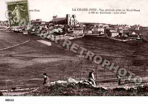 Ville de CHAISEDIEU(LA), carte postale ancienne
