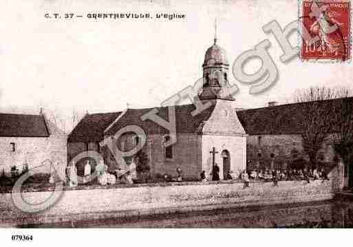 Ville de GRENTHEVILLE, carte postale ancienne