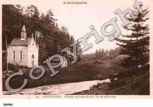 Ville de SAINTALYRED'ARLANC, carte postale ancienne