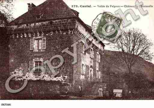 Ville de CHANTERELLE, carte postale ancienne